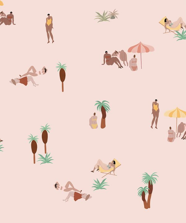 One Day At The Beach - Pink Sand 8000040N