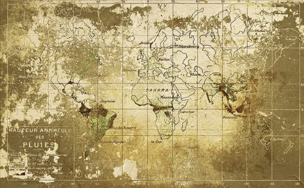 Old Map − Gold   6800306